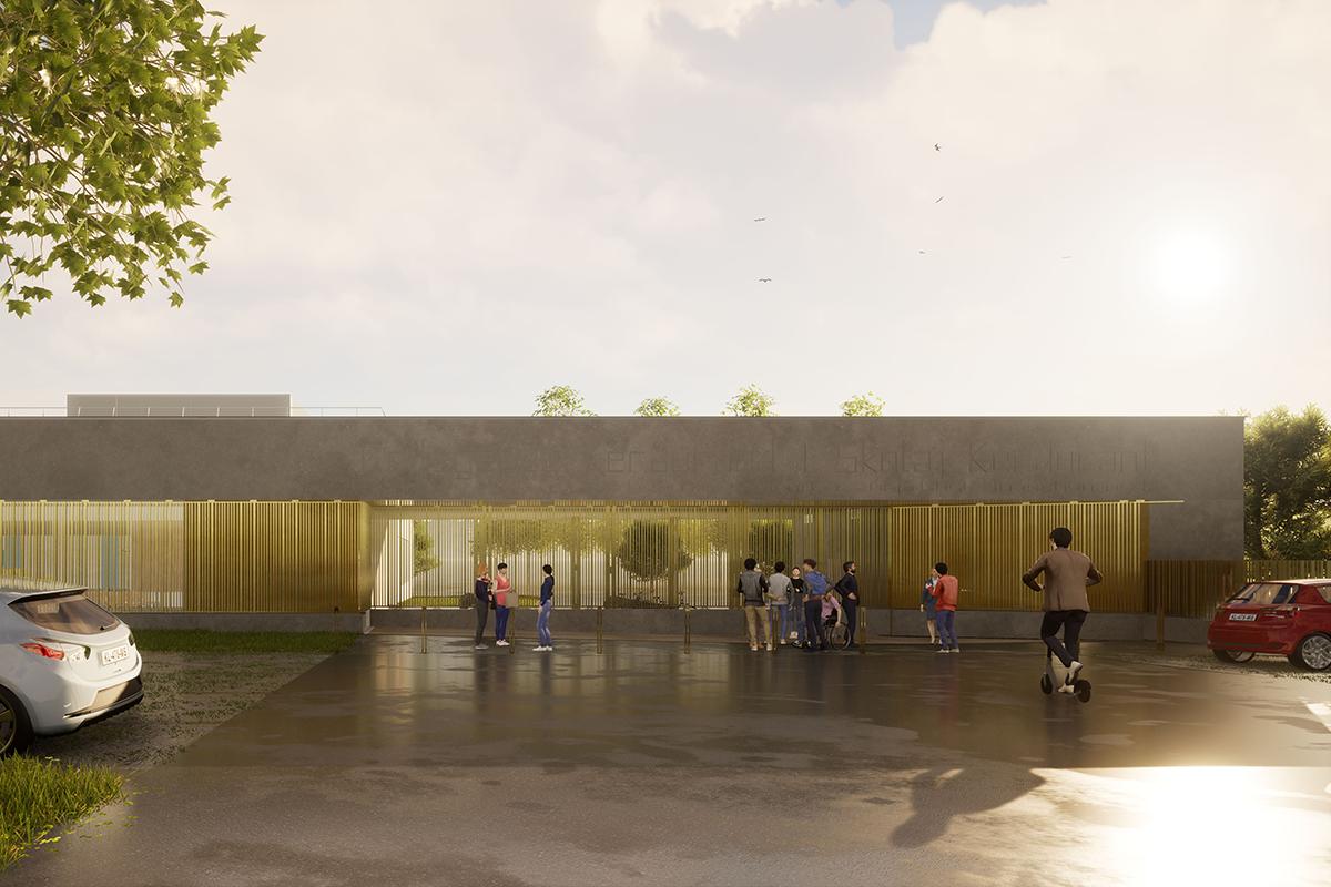 Restructuration et extension du collège de Kerdurand à Riantec