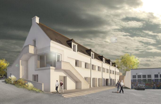 Restructuration du bâtiment F au Port-Lay, île de Groix