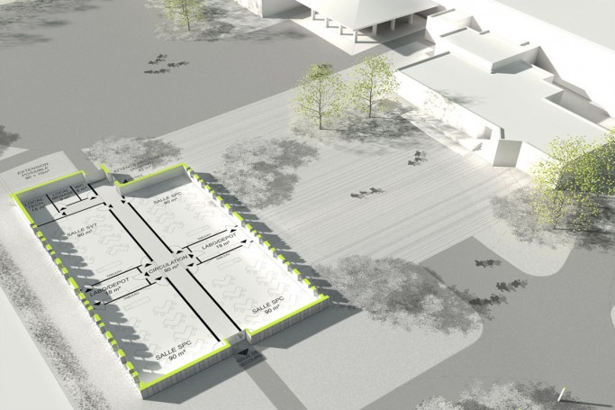 Extension du collège Kerbellec à Queven